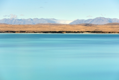 Lake pukaki mt cook photo