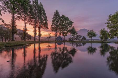 Mount Fuji in Japan photo