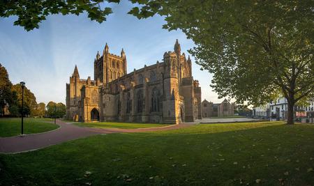 uk: Cathedral Hereford, Herefordshire, England, UK, Western Europe