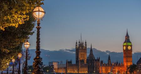 Big Ben clock tower at London England UK photo