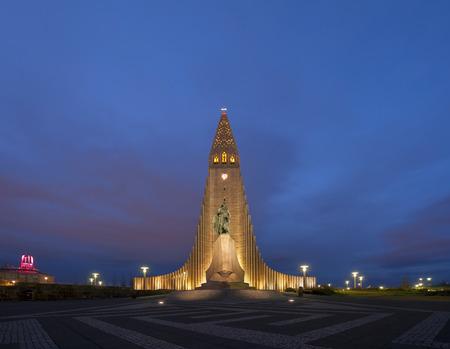 Hallgrimskirkja입니다 교회 레이캬비크 아이슬란드