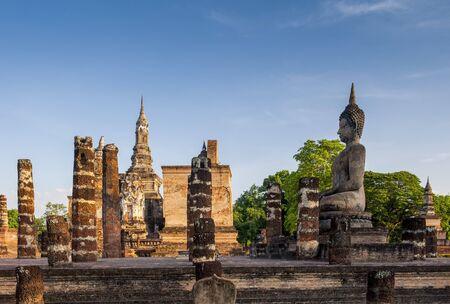 thai temple: Sukothai historical park,
