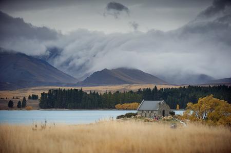 good shepherd: Church of Good Shepherd, Lake Tekapo, New Zealand