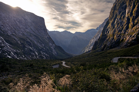 milford: Amazing Mountains at Milford Sound, New Zealand