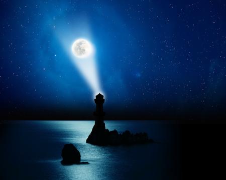 atmosfera: La luna se levantan