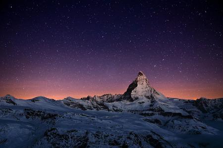 picco Cervino, Zermatt, Svizzera. Archivio Fotografico