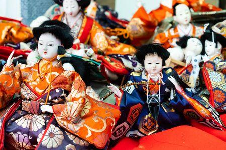 Abandoned Hina dolls Stock Photo - 130275017