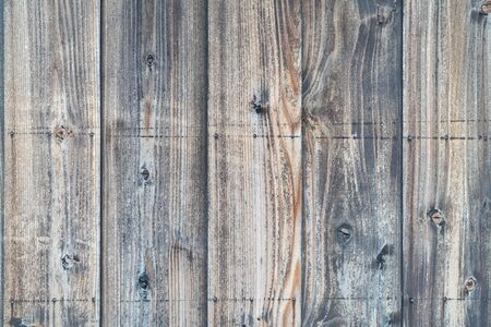 Photo of wall made of wooden board / Material