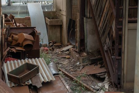 Old buildings / A decayed building / Image of ruins