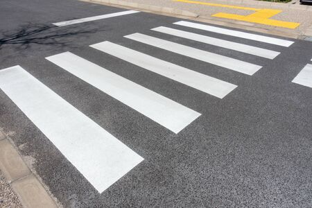 Photograph of pedestrian crossing in Japan