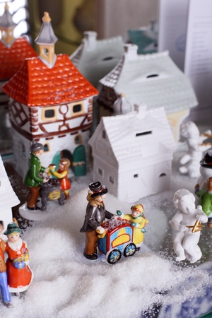 Christmas theme decoration photo