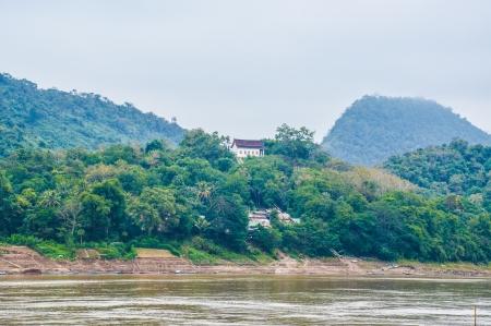 mekong: mekong river laos Editorial