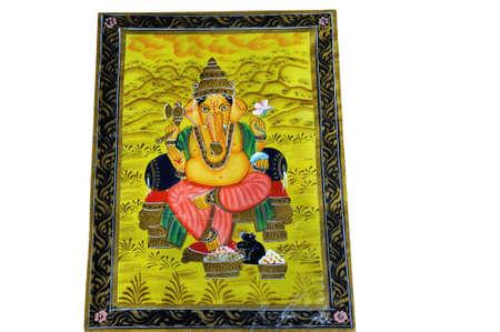 parvati: Ganesha Stock Photo
