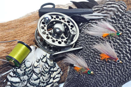 flyfishing: Fly-fishing tackle