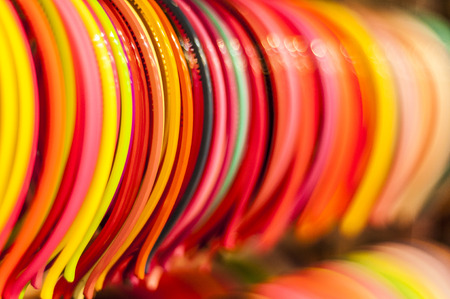 hairband: Colorful clips Stock Photo