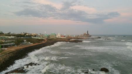 Beautiful southern tip of Indian peninsula