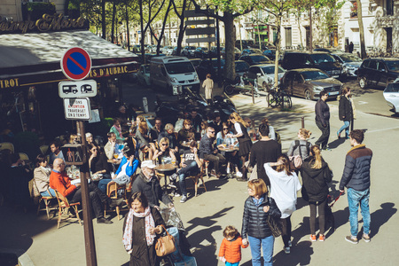 Paris France city walks editorial travel shoot