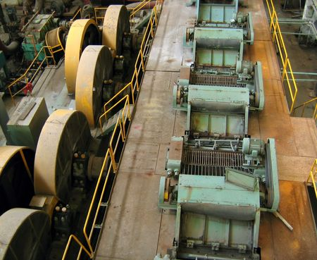 Old Factory -- with vintage machinery and equipment Stock Photo - 527988
