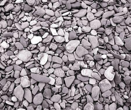 Beach Pebble Background  -- a random assortment of beach pebbles Stock Photo - 828528