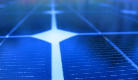 Solar Panel Closeup -- useful for alternative energy and environmental themes