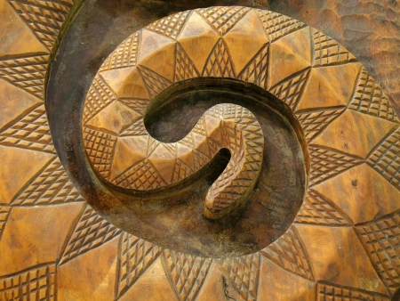 Wooden Snake -- this is a common pattern among Taiwans native people