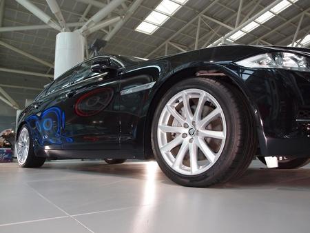 introduces: KAOHSIUNG, TAIWAN - JANUARY 13: Jaguar International introduces its all new Jaguar XJ luxury sedan in the main hall of the Taiwan High Speed Railway Corporation; Kaohsiung, January 13, 2011