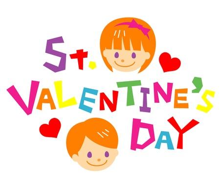 st valentine  s day: st  valentine s day Illustration