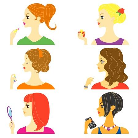 woman profile: women profile