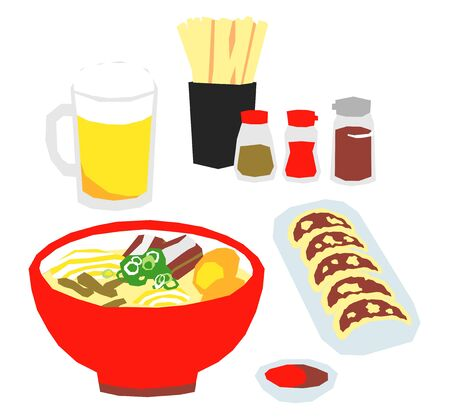 Raman, Chinese noodles in Japan
