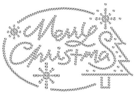 rhinestone: rhinestone Merry Christmas