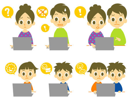 consumers experience using laptop