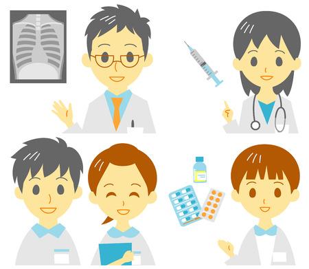 roentgenograph: medical staffs