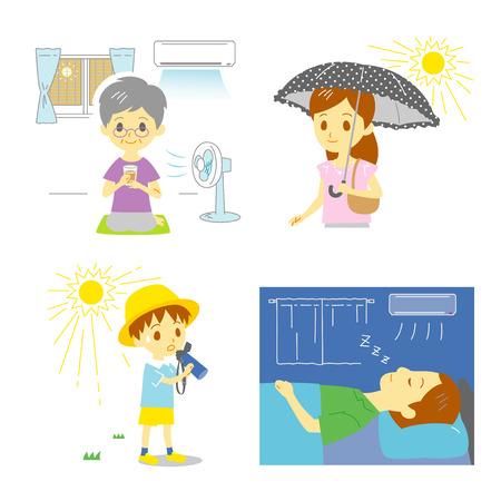 Precaution against hot weather