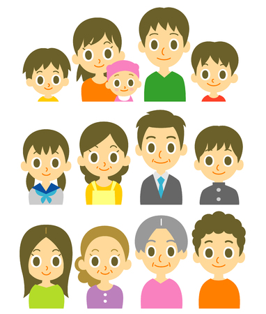 Families Illustration