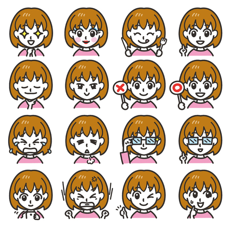 girl expressions 02
