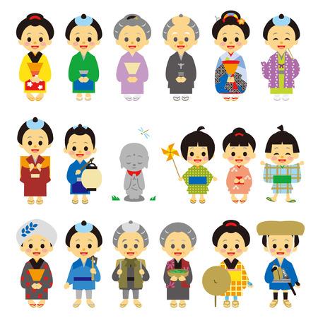 peasant: People of Edo period Japan.