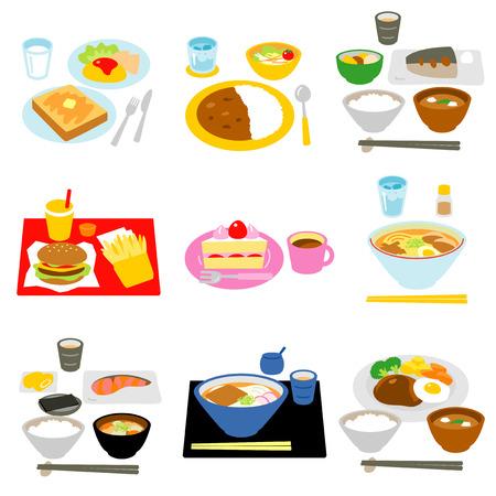 Comidas típicas en Japón