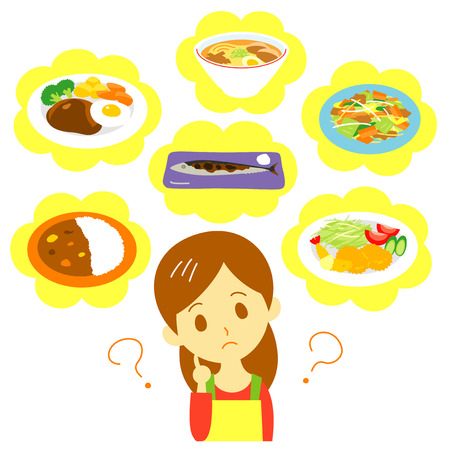 Meal planning woman
