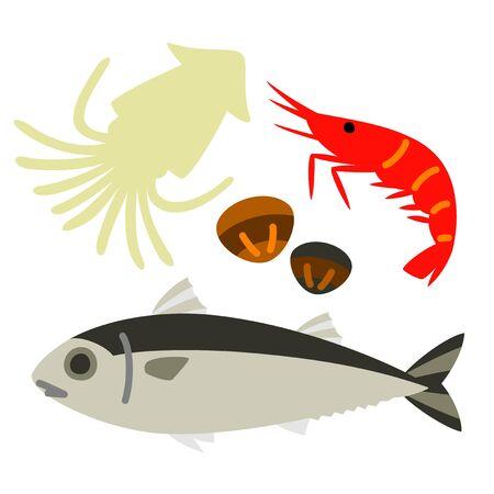 seafood Reklamní fotografie