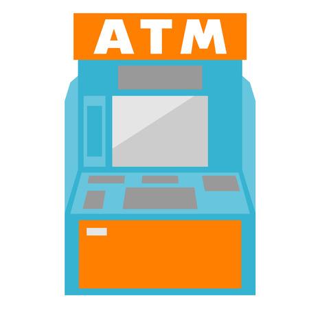 Geldautomaat, geldautomaat Stockfoto
