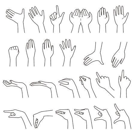 Handbewegungen