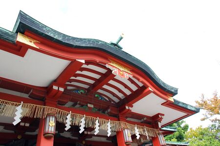 house of god: Tomioka Hachiman ShrineShrine of Japan