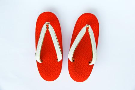 sandalias: Sandalias japonés  Foto de archivo