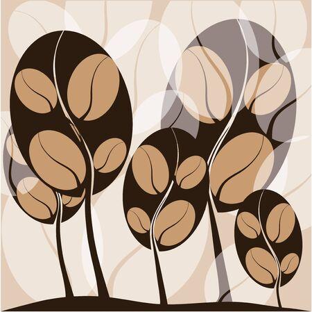 coffe tree: coffee tree background