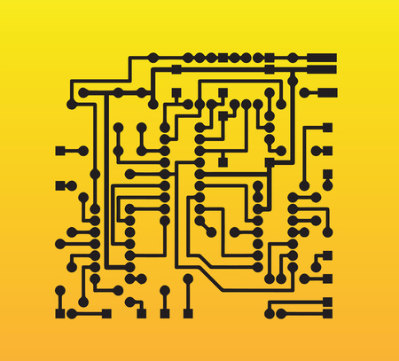 the electronic: Electronic Design Illustration