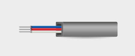 gray electrical cable