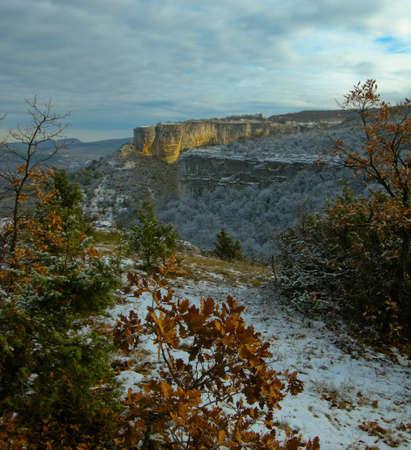 Crimean mountains a river Belbek valley Stock Photo - 4074956