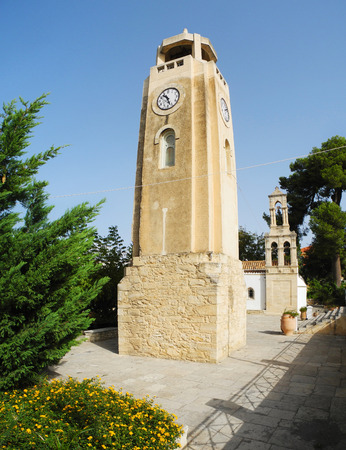 old orthodox church island of Crete Greece