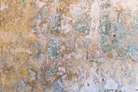 Decayed plastered wall abstract background
