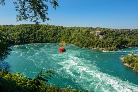 The Niagara River at the Whirlpool Rapids